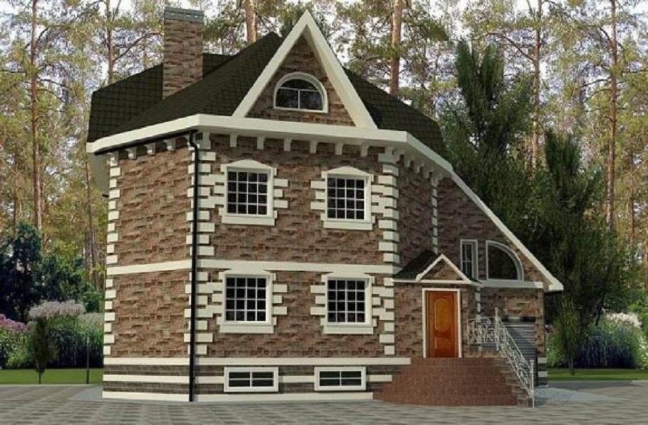 нашей двухэтажный дом с мансардой фото и проекты является отличным