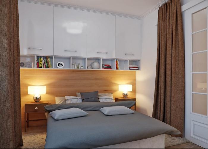 мебель для маленькой спальнифото