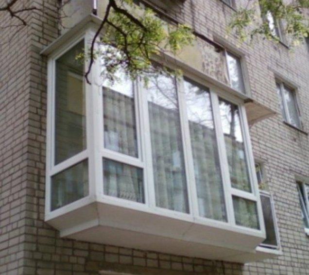 Кирпичный балкон полное остекление остекление балкона с крышей цена