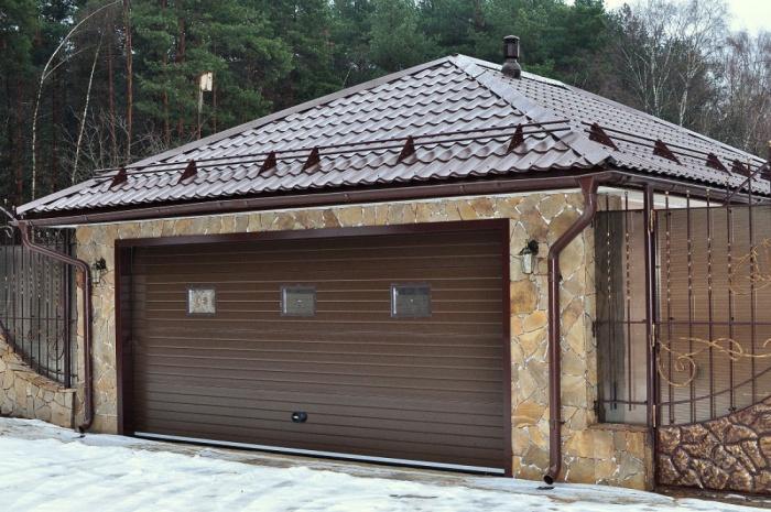 Как правильно перекрыть крышу гаража куплю печь буржуйку для гаража бу