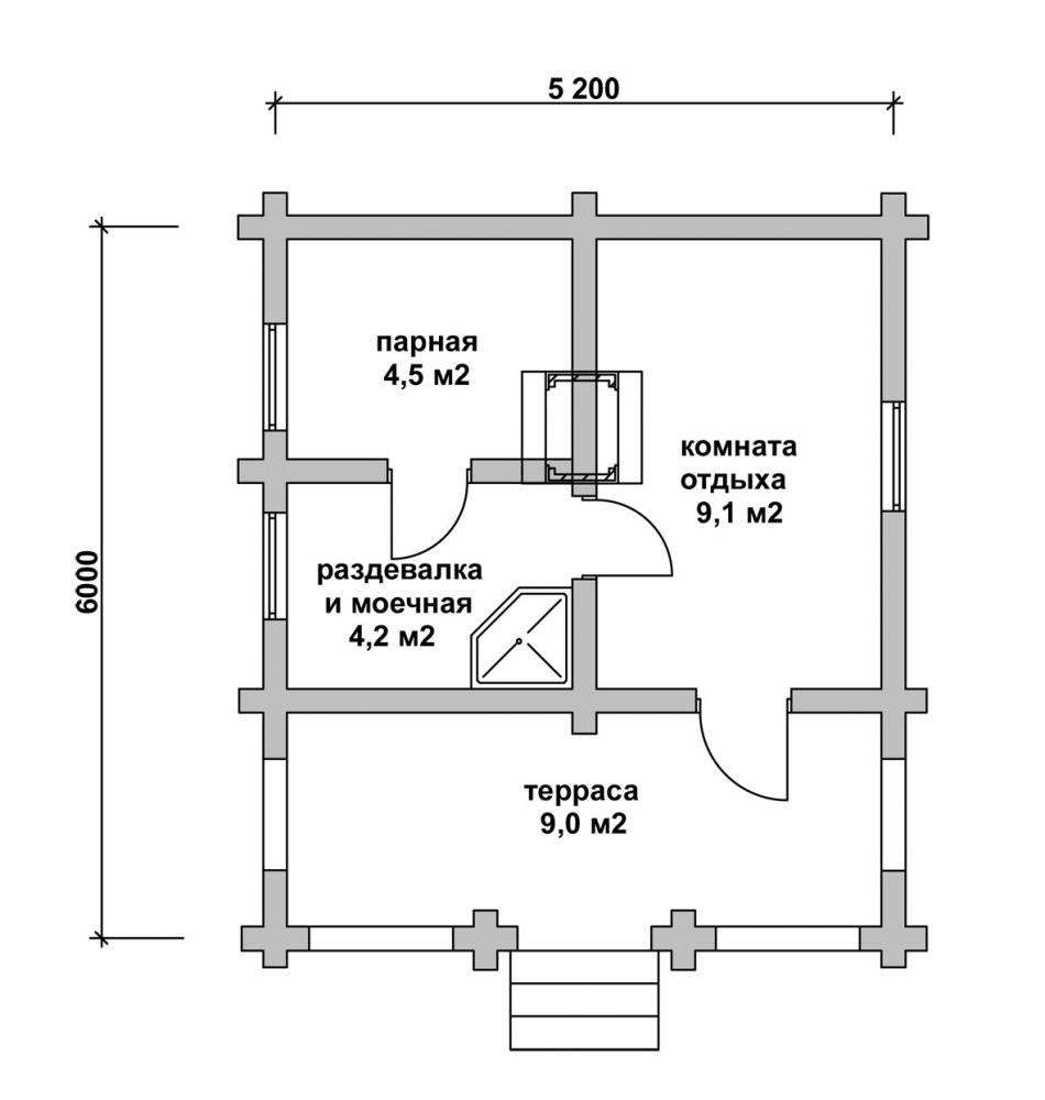 Как построить баню из керамзитоблоков своими руками фото 355