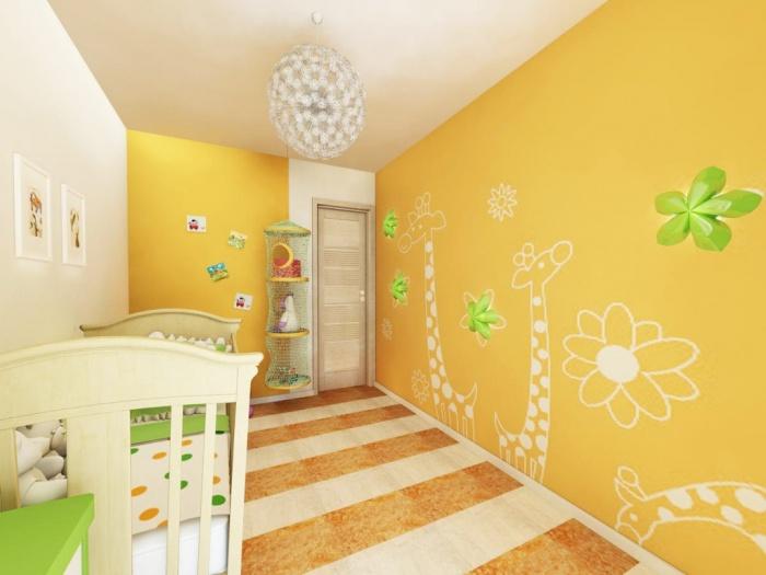 Обои в детскую комнату: фото и особенности выбора | Строительный ... | 525x700
