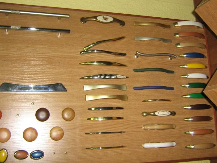 ручки для кухонной мебели