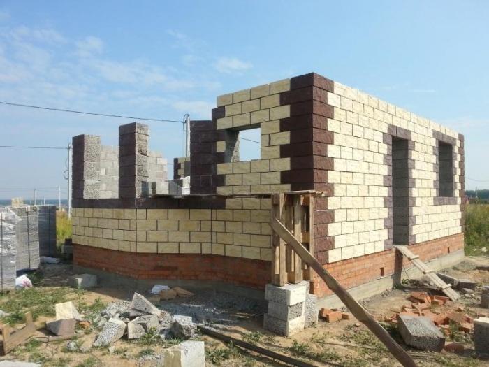 Облицовка из керамзитобетона купить грунтовка по бетону