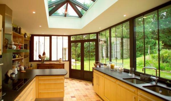 веранда-кухня на даче фото