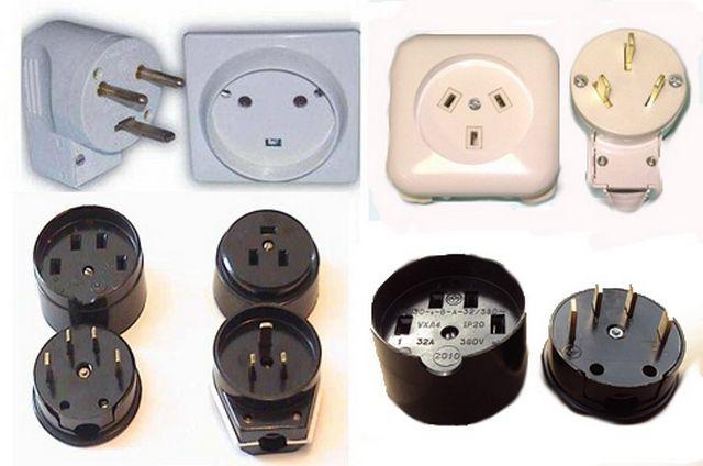 6c088e0a65b7 Количество штырьков должно соответствовать типу электросети – для однофазной  сети на вилке и розетке будет по четыре контакта или штырька, для  трехфазной ...