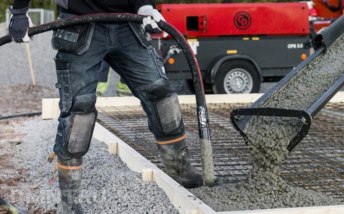 Хобот для бетона раствор цементный отделочный 1 3