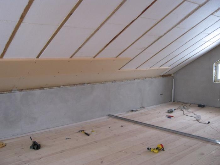 Отделка второго этажа деревянного дома