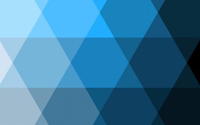 Цветовая гамма голубого цвета