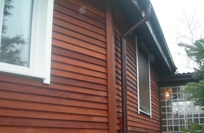 Отделка фасада деревом (37 фото): наружная облицовка частного дома термодеревом, как обшить снаружи