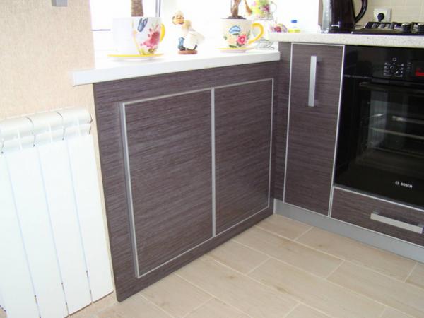 Холодильник под окном отделка своими руками фото фото 487