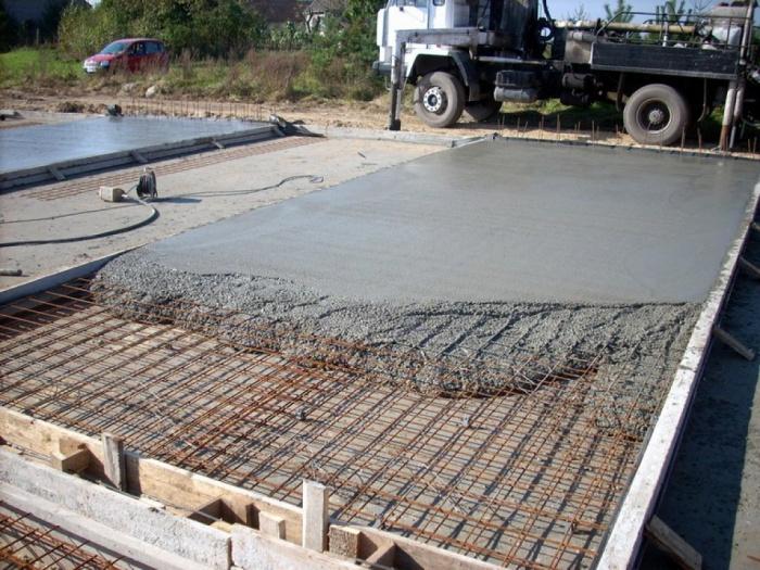 Бетон стадия литой бетон