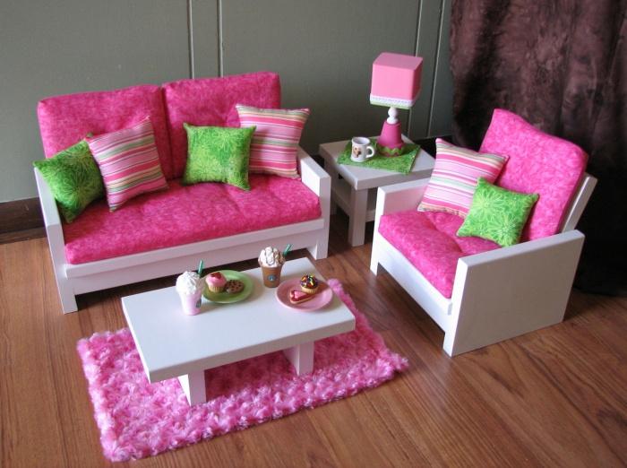 Мебель для кукольного домика своими руками 229