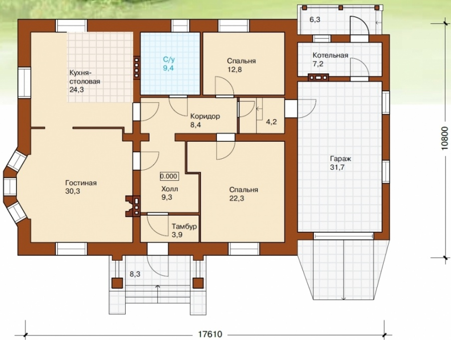 Схема расположения комнат в доме фото 240