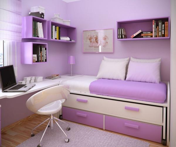 дизайн комнаты для подростка девочки фото