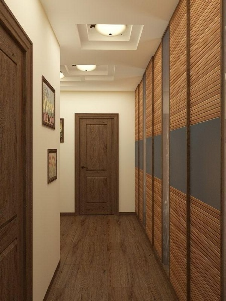 ein langer flur interieur design ideen und l sungen. Black Bedroom Furniture Sets. Home Design Ideas
