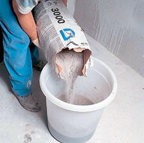 раствор штукатурный цементный как приготовить