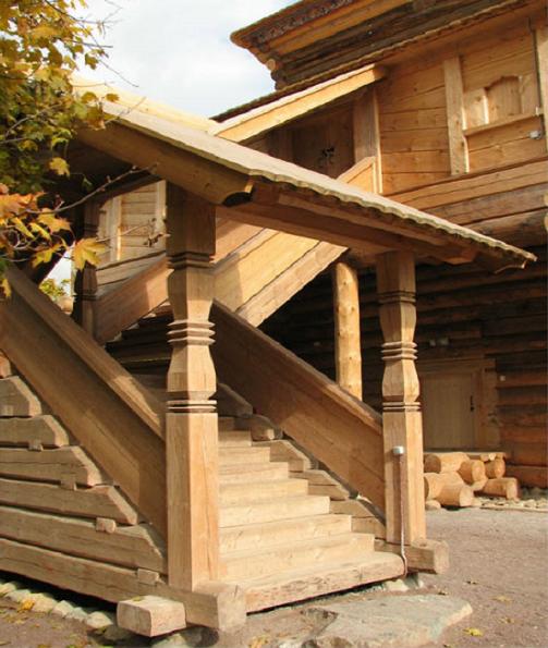 Крыльцо деревянного дома своими руками фото 792