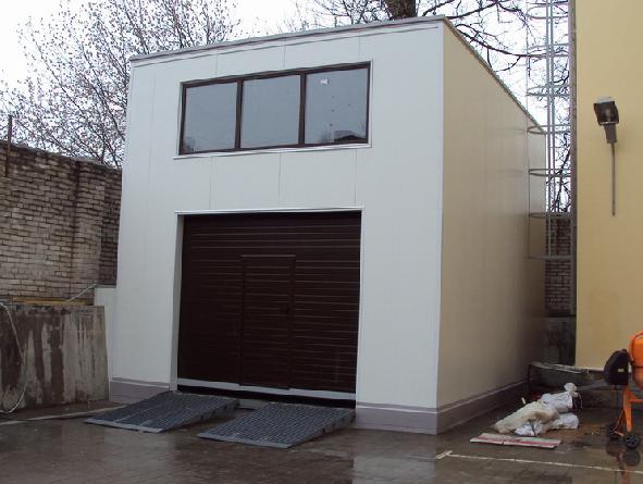Двухэтажные гаражи из сэндвич панелей цена гараж на 3 машины размеры