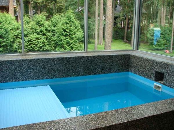 Гидроизоляция бетонного бассейна: герметизация бетонного бассейна изнутри своими руками, особенности обмазочной гидроизоляции