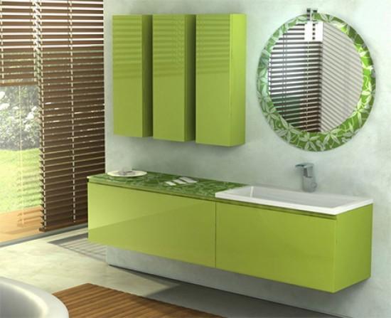 мебель для маленькой ванной комнаты фото