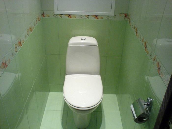 Отделка туалета пластиковыми панелями своими руками