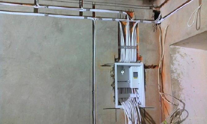 Электрика в панельном доме 2 комнатная квартира