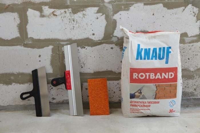 Смесь для штукатурки бетонной поверхности расход цементного раствора на кирпичную