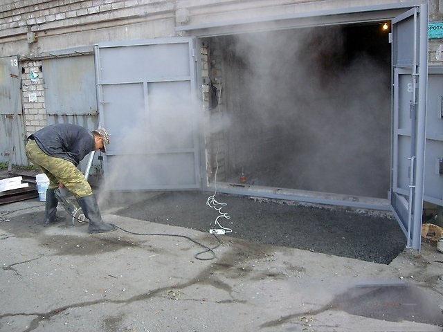 Отмостка для металлического гаража купить в рязани гараж пенал