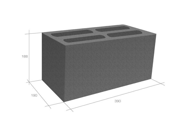 Размеры блоков керамзитобетон завод бетона в оренбурге