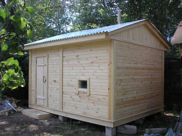 Проект и строительство каркасной бани 6х6, 6х8, 6х3, 5х6 и других размеров своими руками