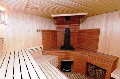 Виды кирпичных печей для бани