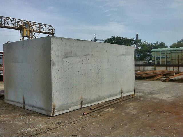 Готовый железобетонный гараж гараж на металлических столбах