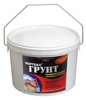 Акриловая грунтовка в чем отличие латексной смеси универсальное средство для дерева и стен от Нортекс грунт состав для работы по металлу и бетону