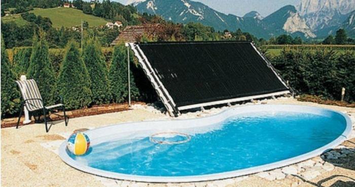Солнечный нагреватель для бассейна своими руками