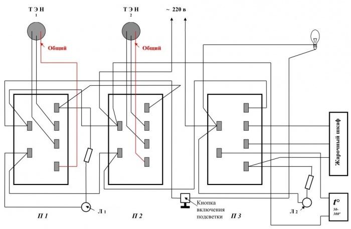 Электрическая схема нововятка престиж 110