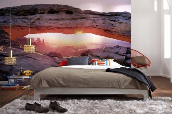 фотообои каньон