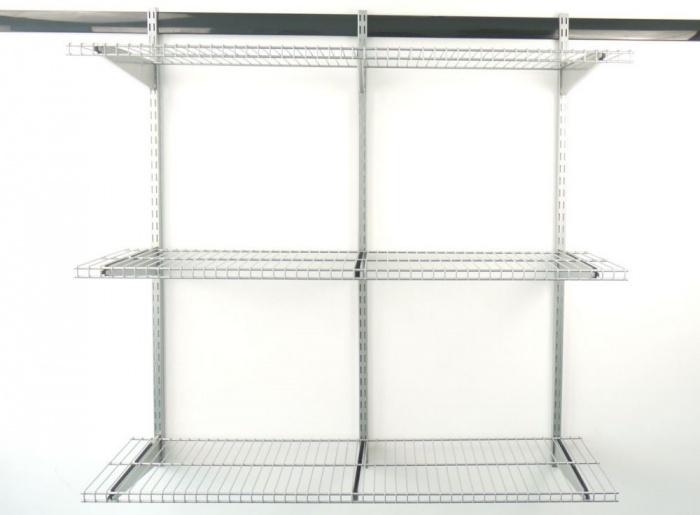 Металлические навесные полки в гараж купить в купить гараж первомайск