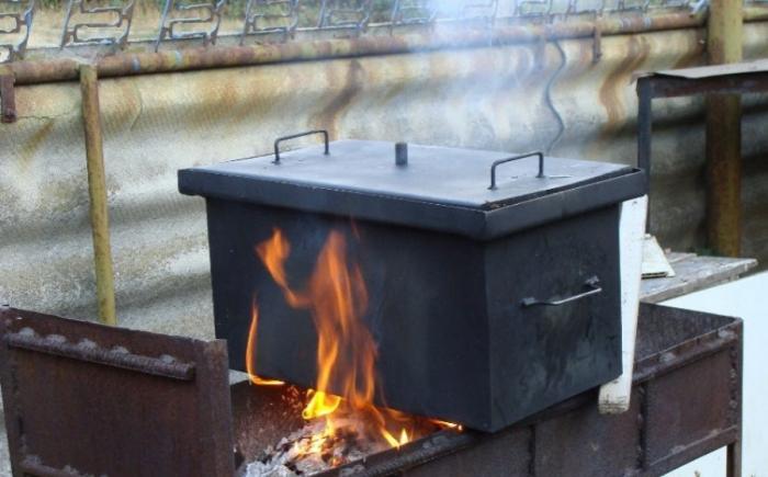 Коптильня горячего копчения леруа мерлен купить самогонный аппарат в самаре авито