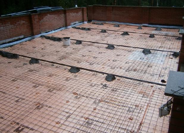 пеноплекс на бетон