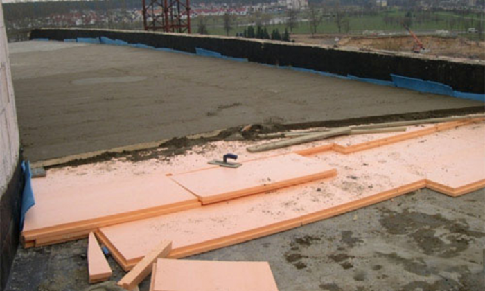 Пеноплекс на бетонную плиту