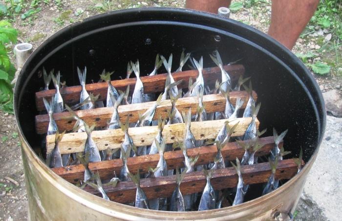 Чертеж дымогенератора для холодного копчения своими руками