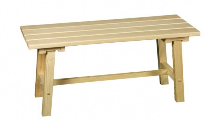 Как делается скамейка в баню своими руками