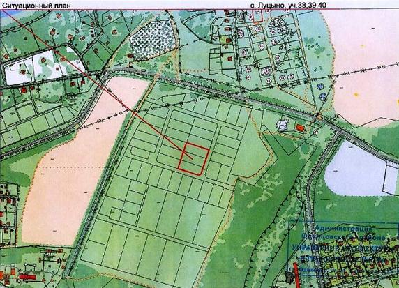 Разбираемся с понятием ситуационного плана земельного участка