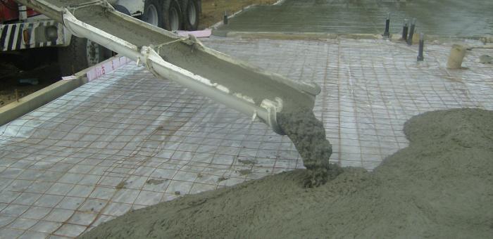 Льющийся бетон мурино купить бетон