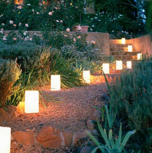 План освещения в ландшафтном дизайне