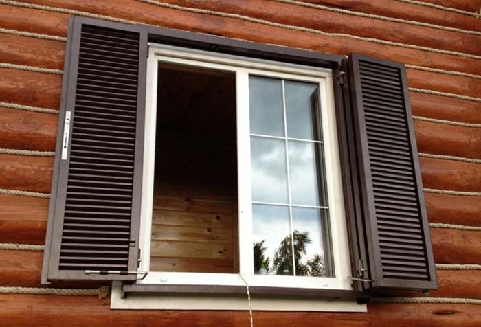 Сделать ставни на окна своими руками фото 745