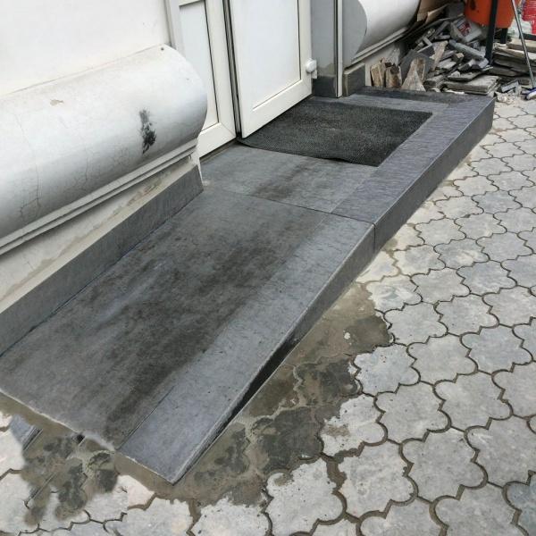 Залить пандус бетоном определение расхода воды в бетонной смеси