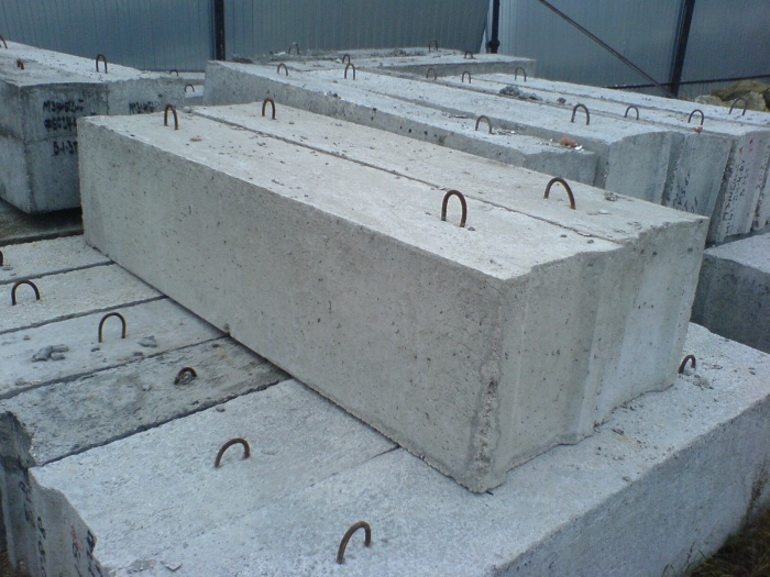 Блок для фундамента размеры