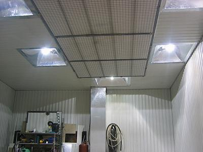 Купить светильники на гараж металлические тенты для гаражей